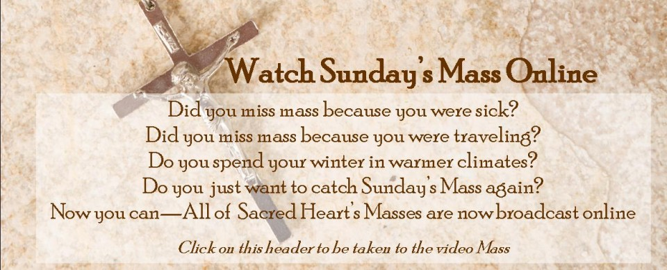 Sunday Mass Video Link